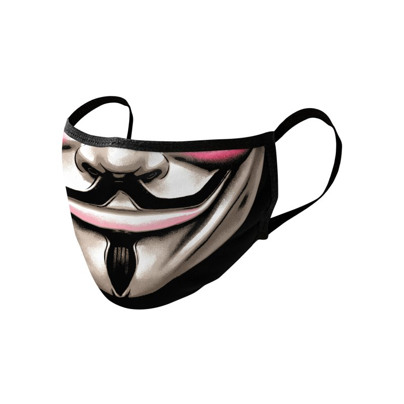 Anarchist Accessories Face Mask by Anthony Petrie Print + Product Design