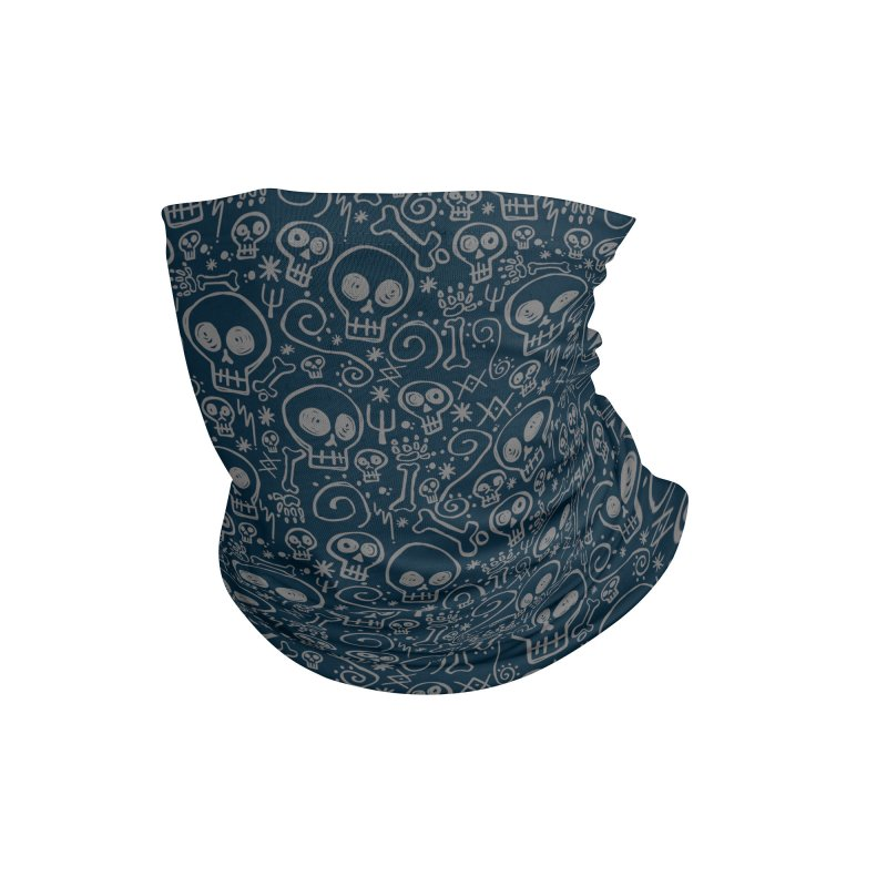Skully Accessories Neck Gaiter by Anthony Petrie Print + Product Design