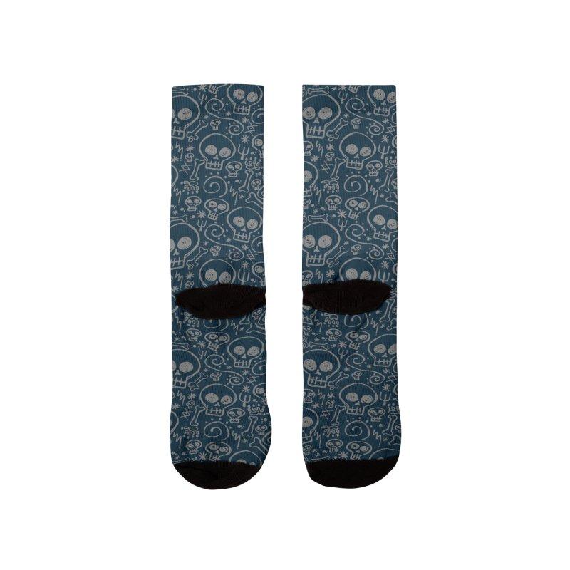 Skully Men's Socks by Anthony Petrie Print + Product Design