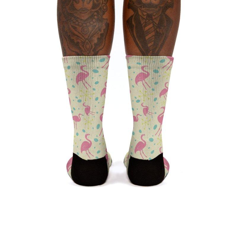 Flamingo Women's Socks by Anthony Petrie Print + Product Design