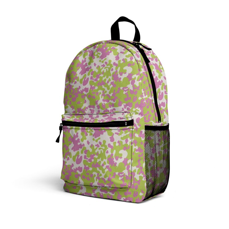Abstract Camo Accessories Bag by Anthony Petrie Print + Product Design
