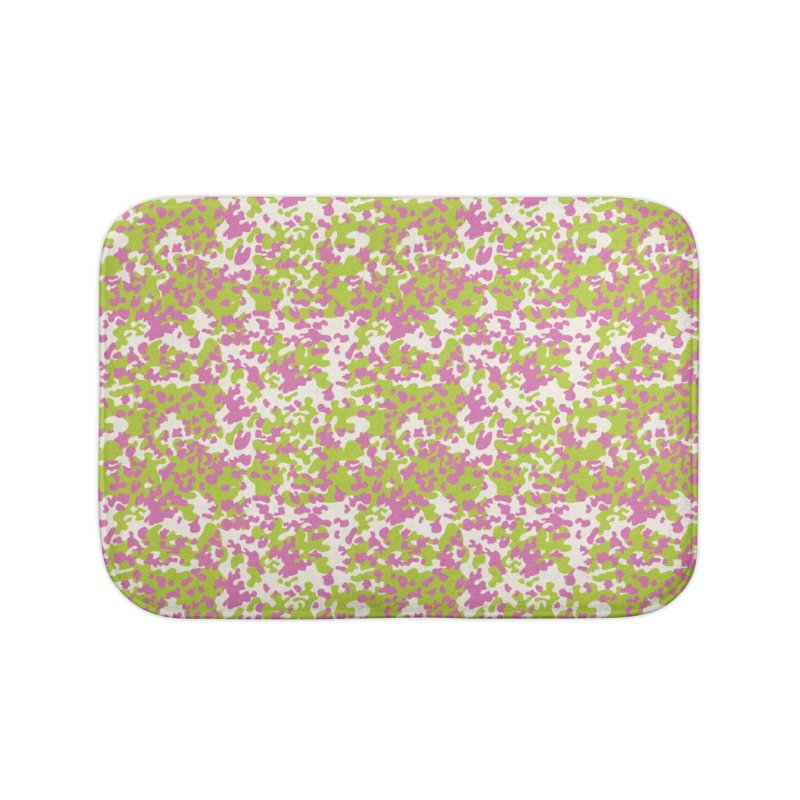 Abstract Camo Home Bath Mat by Anthony Petrie Print + Product Design