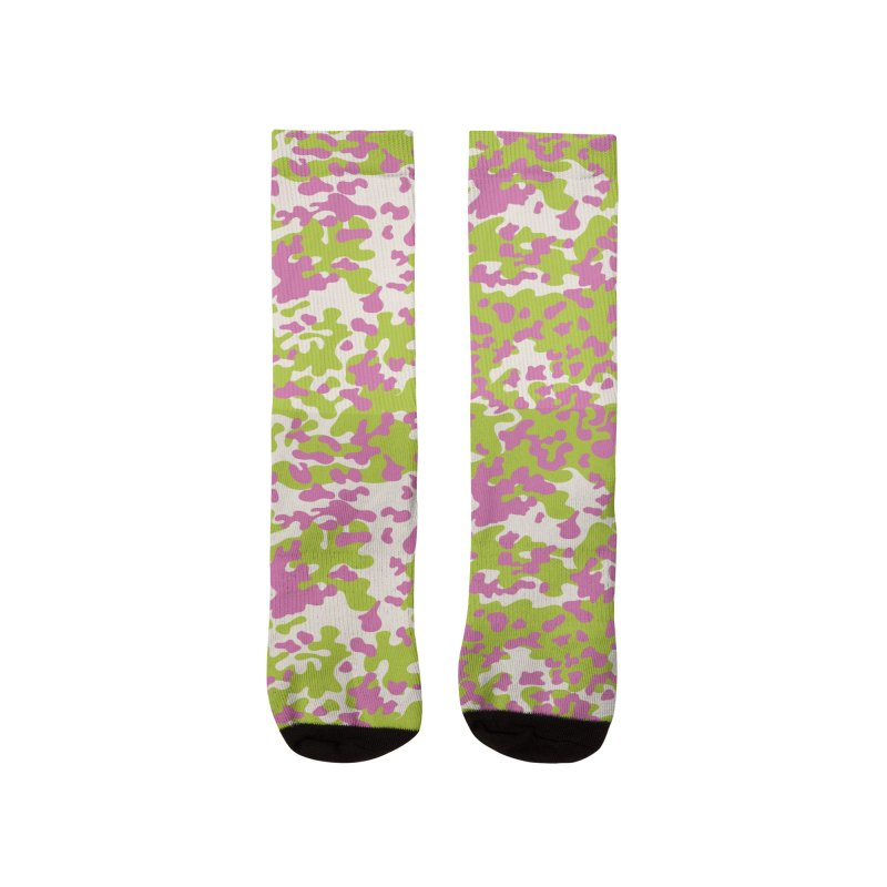 Abstract Camo Women's Socks by Anthony Petrie Print + Product Design
