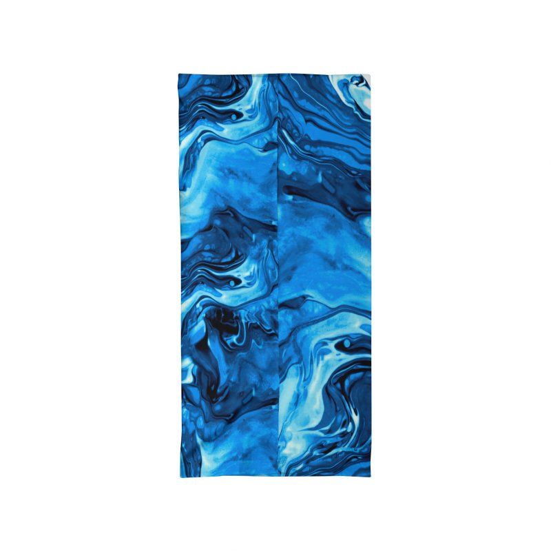 Marbled Accessories Neck Gaiter by Anthony Petrie Print + Product Design