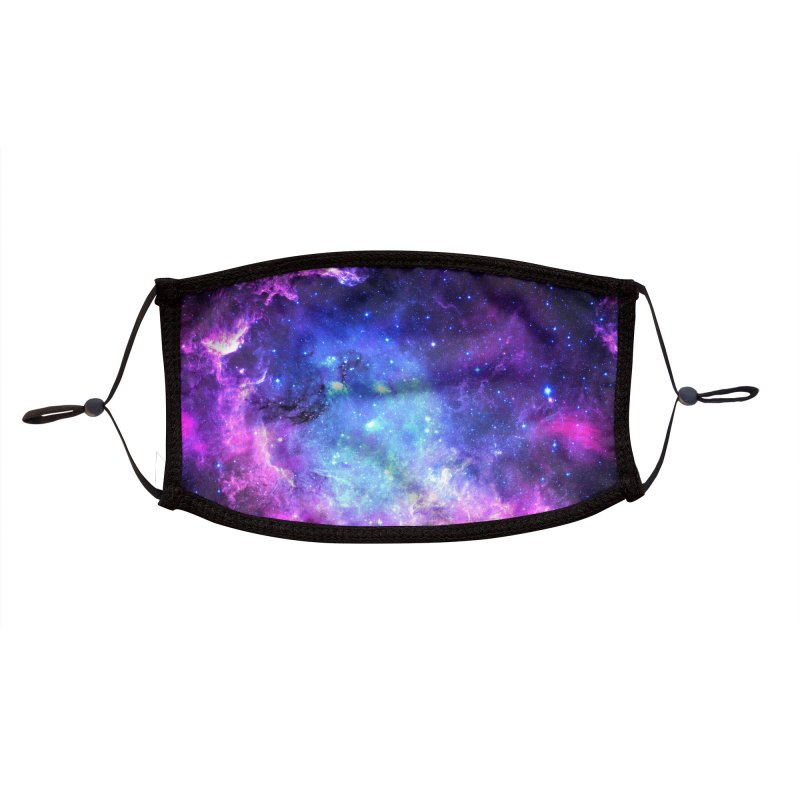 Galaxy Accessories Face Mask by Anthony Petrie Print + Product Design