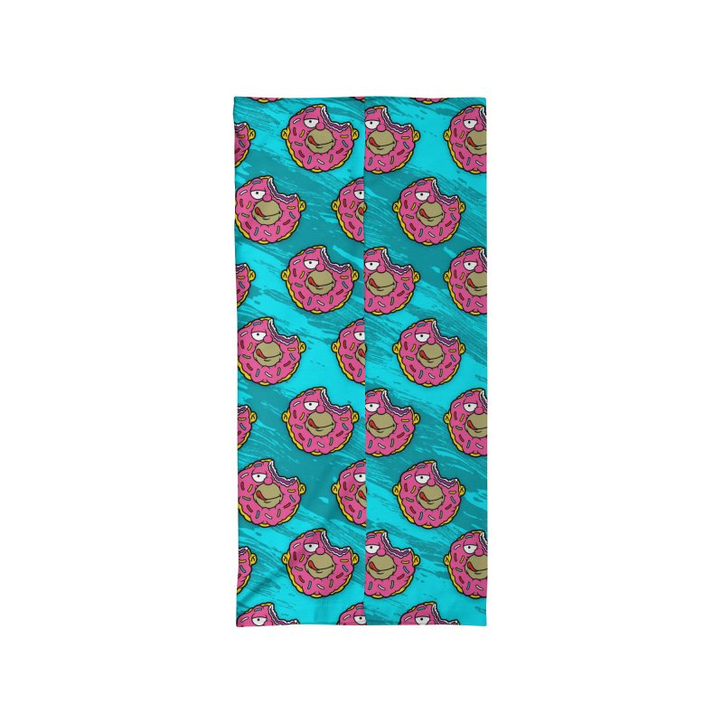Go Nuts for Honuts Accessories Neck Gaiter by Anthony Petrie Print + Product Design