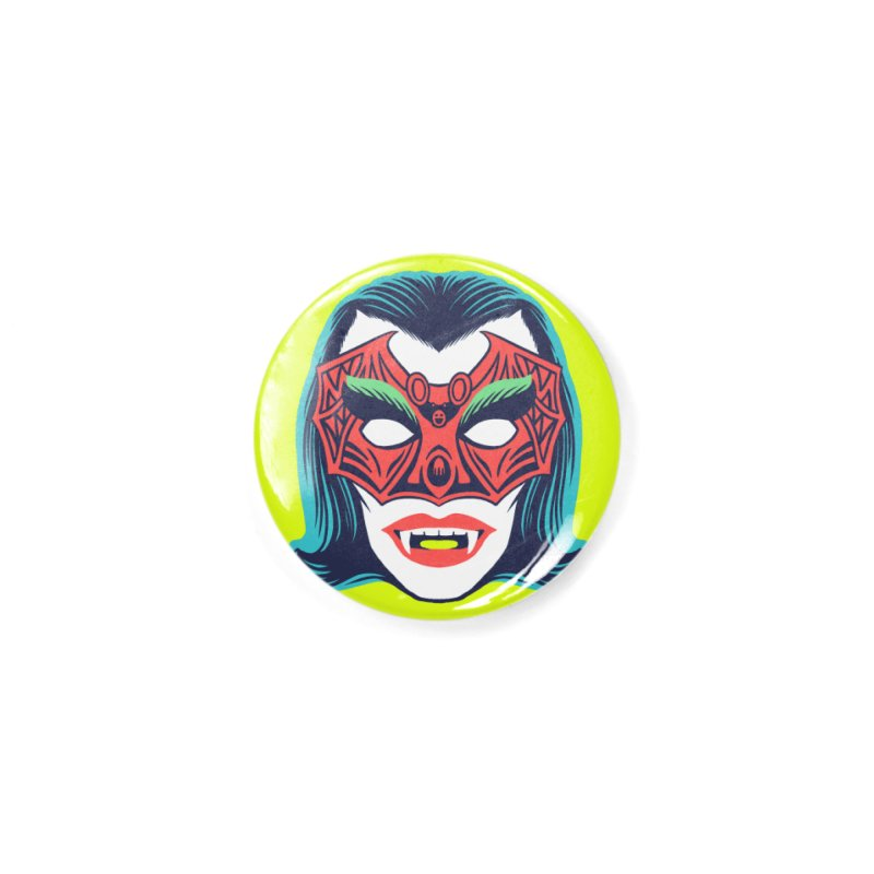 Maskerade - Vampiress Accessories Button by Anthony Petrie Print + Product Design