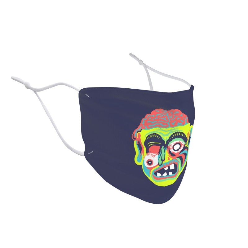 Maskerade - Zombee Accessories Face Mask by Anthony Petrie Print + Product Design