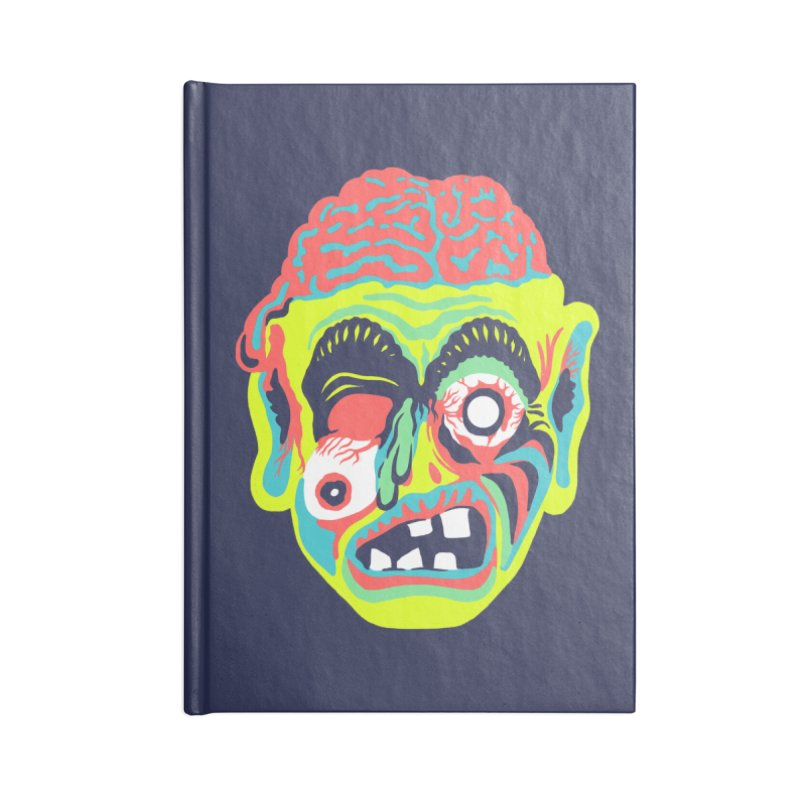 Maskerade - Zombee Accessories Notebook by Anthony Petrie Print + Product Design