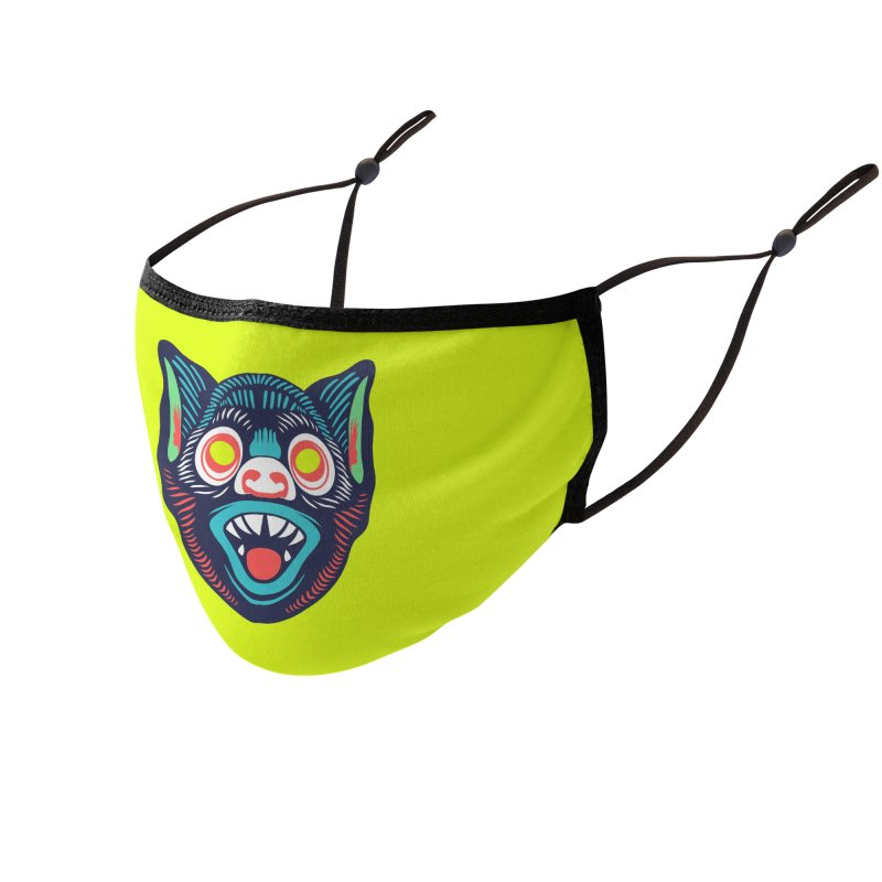 Maskerade - Batty Accessories Face Mask by Anthony Petrie Print + Product Design