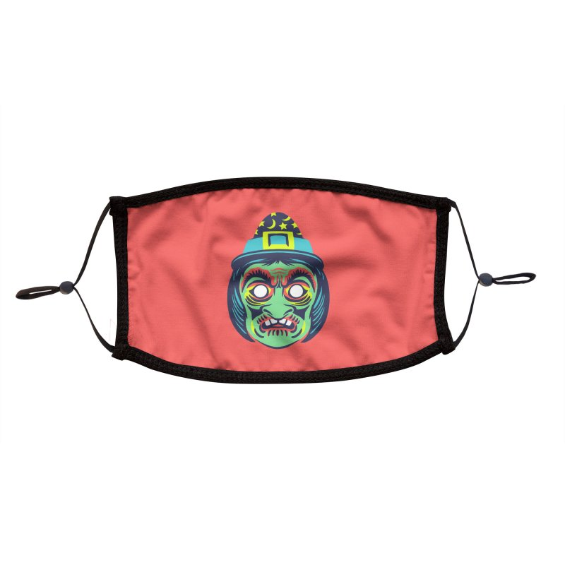 Maskerade - Witchy Accessories Face Mask by Anthony Petrie Print + Product Design