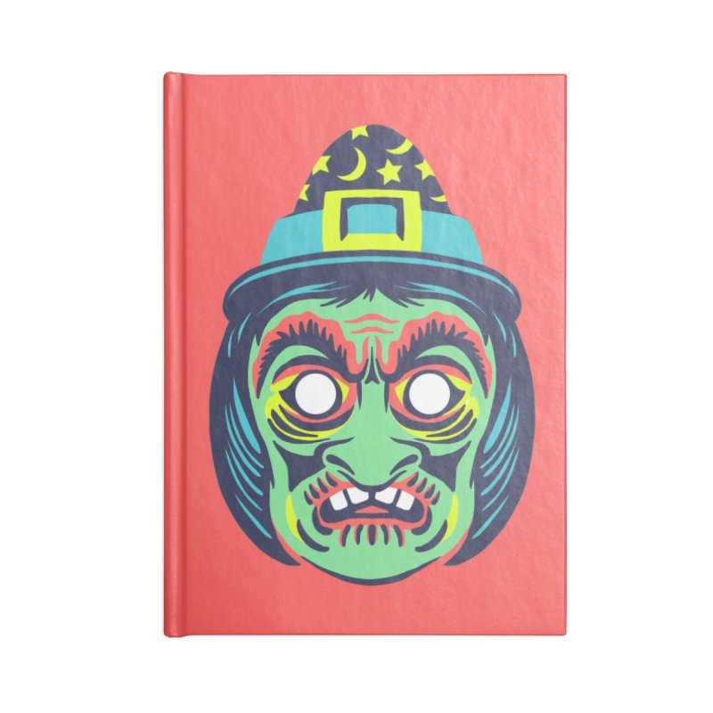 Maskerade - Witchy Accessories Notebook by Anthony Petrie Print + Product Design