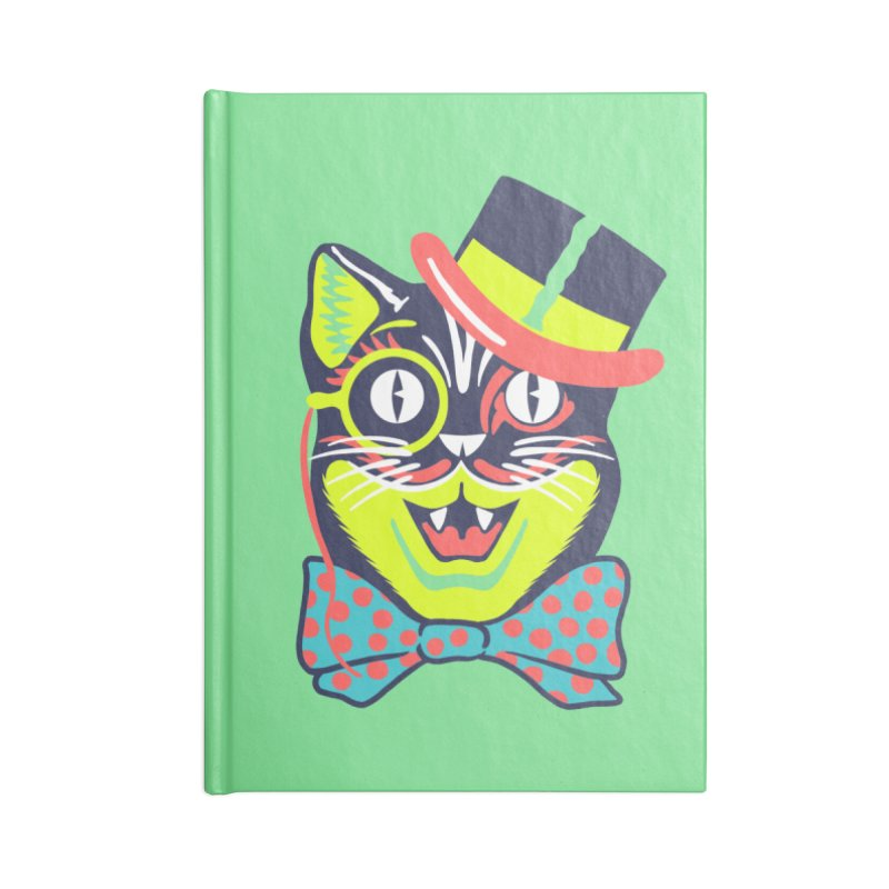 Maskerade - Cat in the Top Hat Accessories Notebook by Anthony Petrie Print + Product Design