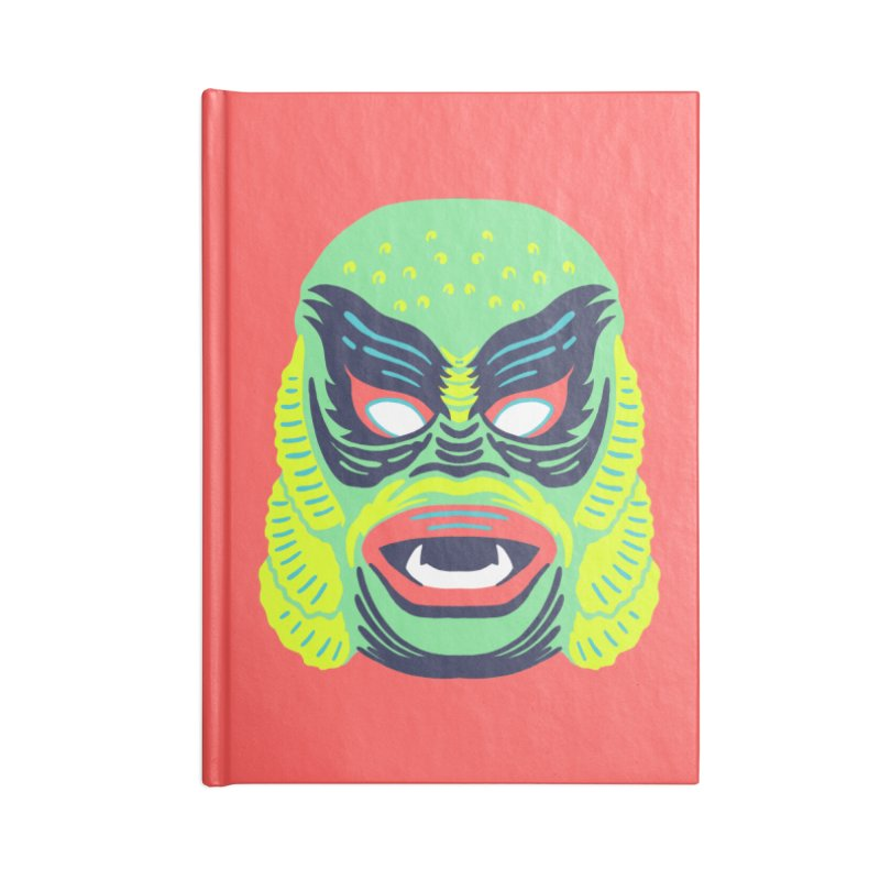Maskerade - Creech Accessories Notebook by Anthony Petrie Print + Product Design
