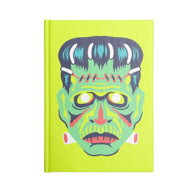 Maskerade - Franc Accessories Notebook by Anthony Petrie Print + Product Design