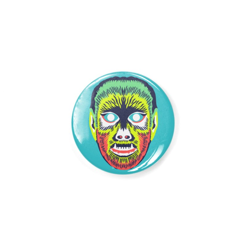 Maskerade - VVolf Accessories Button by Anthony Petrie Print + Product Design