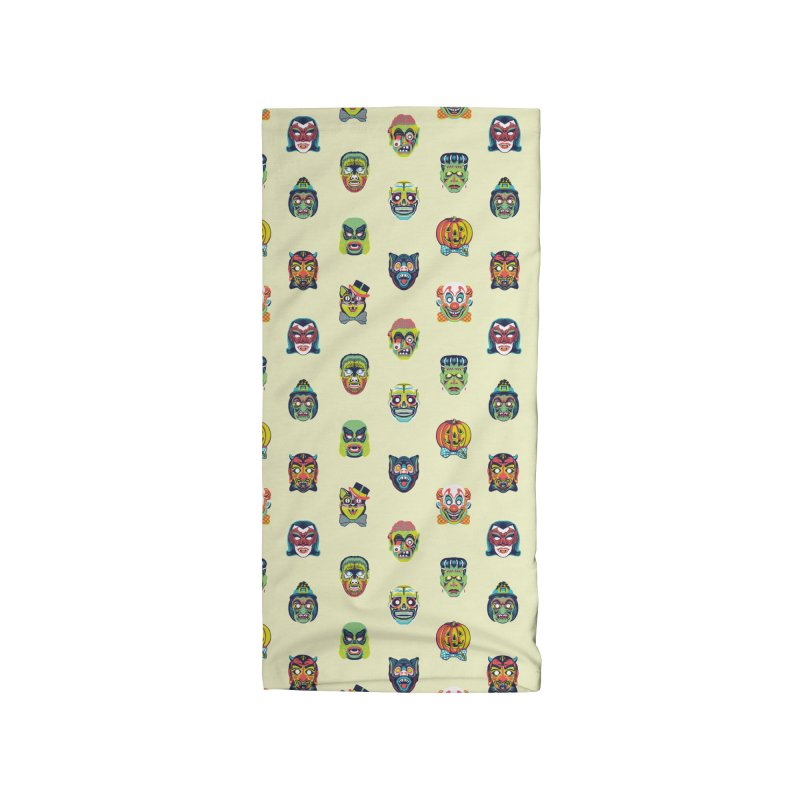 Maskerade Parade Accessories Neck Gaiter by Anthony Petrie Print + Product Design