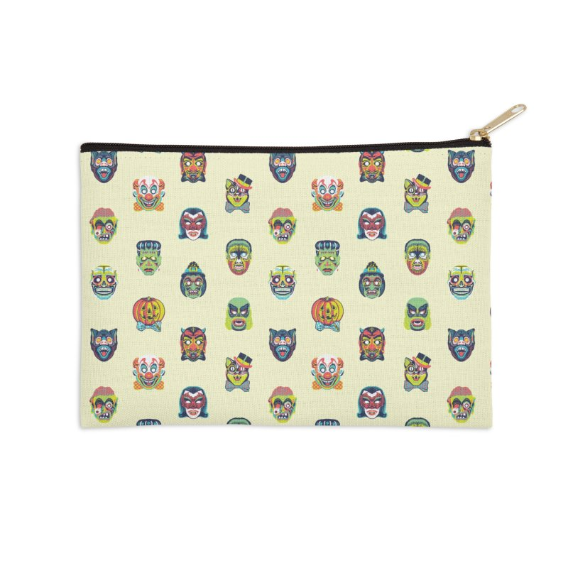 Maskerade Parade Accessories Zip Pouch by Anthony Petrie Print + Product Design