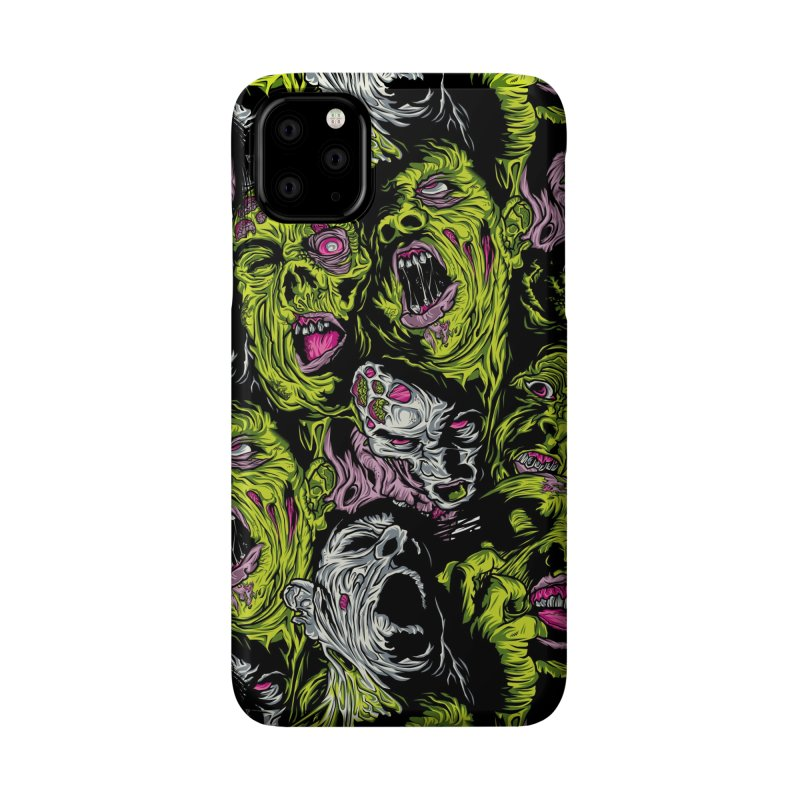 Fight of the Living Dead (Pattern) Accessories Phone Case by Anthony Petrie Print + Product Design