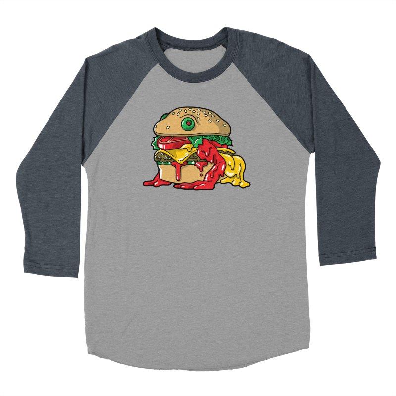 Frurger Men's Baseball Triblend Longsleeve T-Shirt by Anthony Petrie Print + Product Design