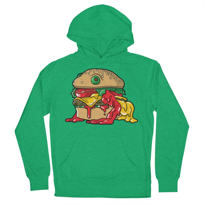 Frurger Men's French Terry Pullover Hoody by Anthony Petrie Print + Product Design