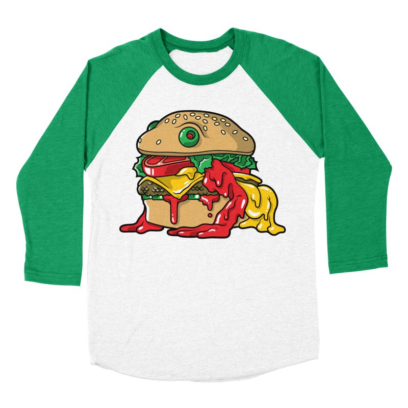 Frurger Women's Baseball Triblend Longsleeve T-Shirt by Anthony Petrie Print + Product Design