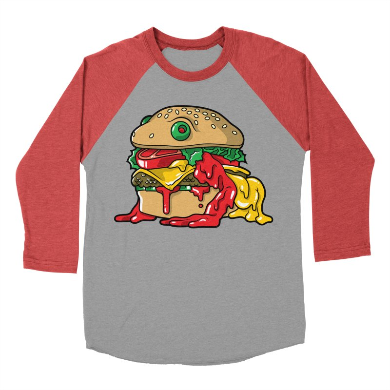 Frurger Men's Baseball Triblend Longsleeve T-Shirt by Anthony Petrie Print + Product Design
