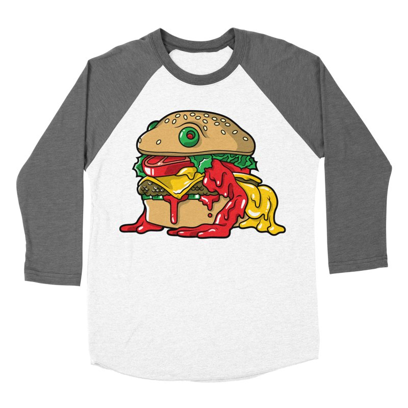 Frurger Men's Baseball Triblend T-Shirt by Anthony Petrie Print + Product Design