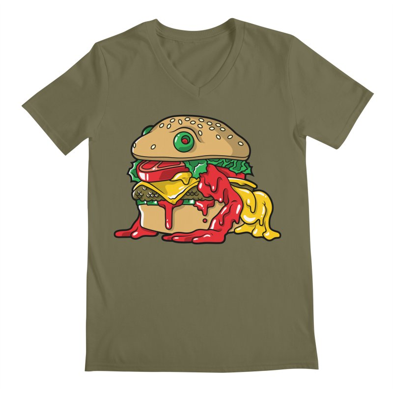 Frurger Men's V-Neck by Anthony Petrie Print + Product Design