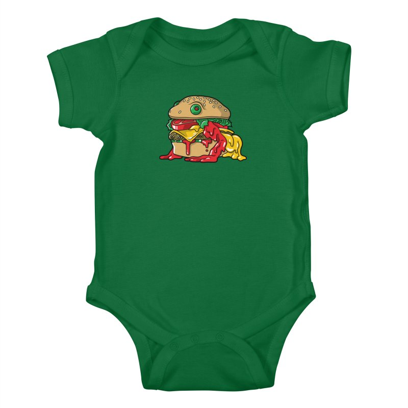 Frurger Kids Baby Bodysuit by Anthony Petrie Print + Product Design