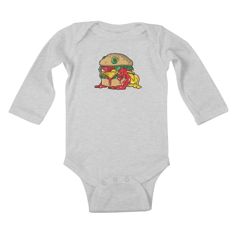 Frurger Kids Baby Longsleeve Bodysuit by Anthony Petrie Print + Product Design