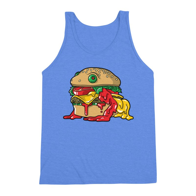 Frurger Men's Triblend Tank by Anthony Petrie Print + Product Design