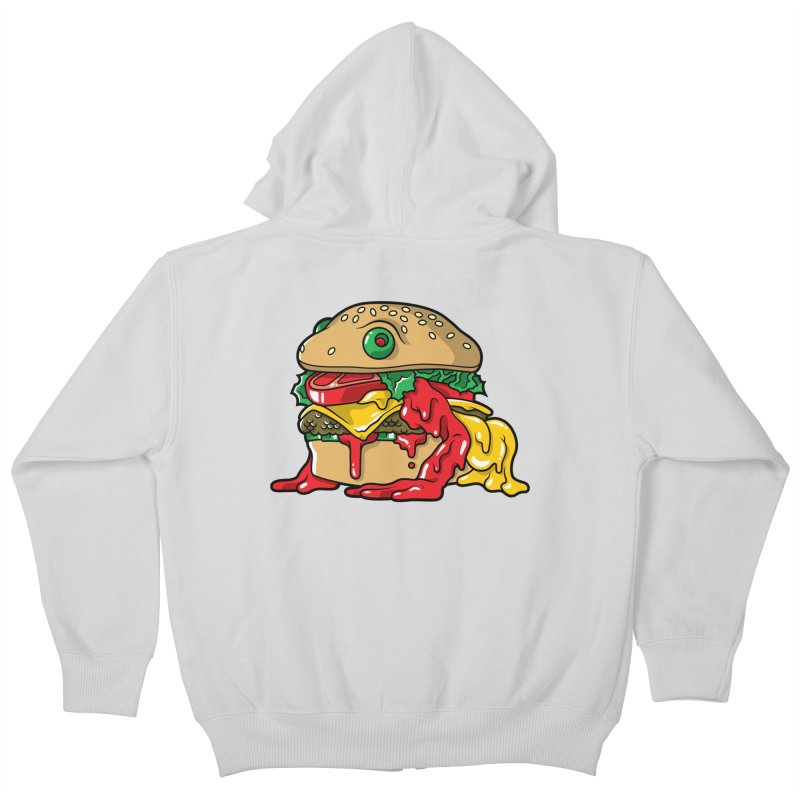 Frurger Kids Zip-Up Hoody by Anthony Petrie Print + Product Design