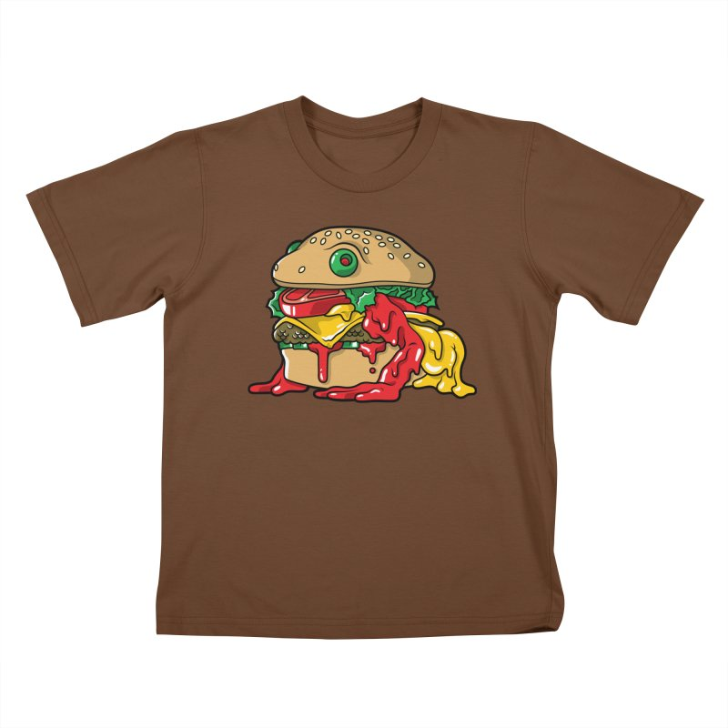 Frurger Kids T-Shirt by Anthony Petrie Print + Product Design