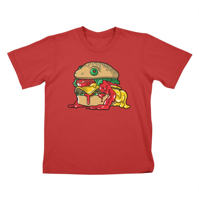 Frurger Kids T-shirt by Anthony Petrie