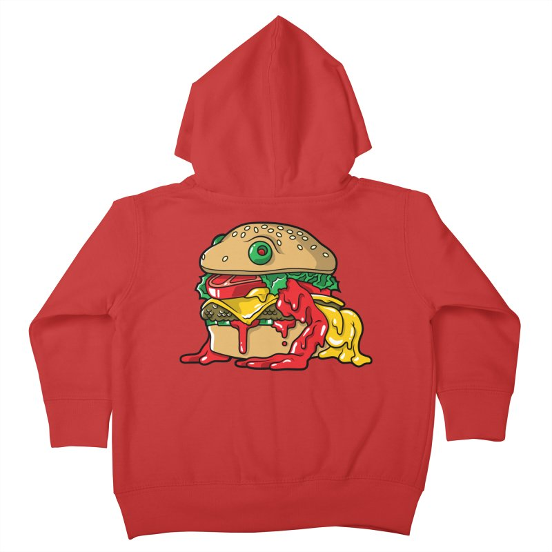 Feast Beasts - Frurger Kids Toddler Zip-Up Hoody by Anthony Petrie Print + Product Design