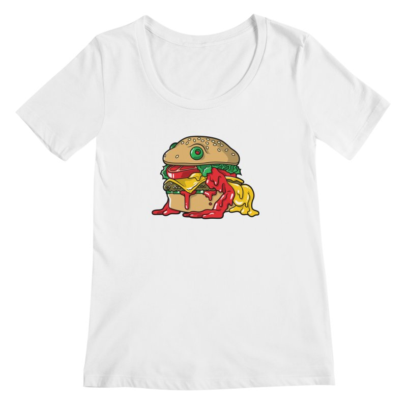 Frurger Women's Scoopneck by Anthony Petrie
