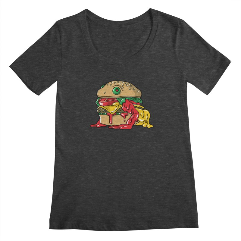 Frurger Women's Scoopneck by Anthony Petrie Print + Product Design
