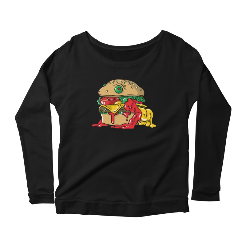 Frurger Women's Longsleeve Scoopneck  by Anthony Petrie Print + Product Design