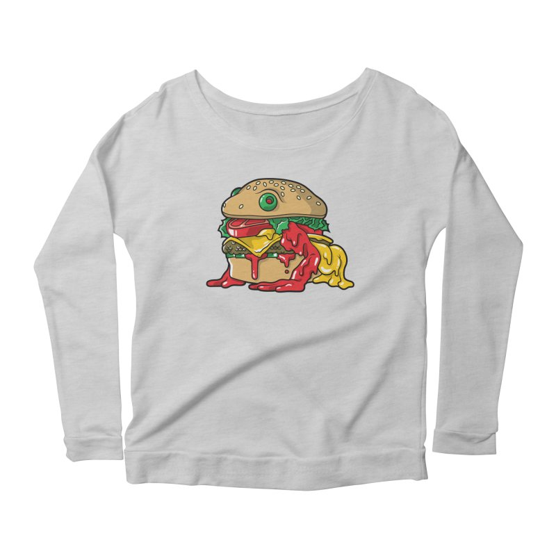 Frurger Women's Scoop Neck Longsleeve T-Shirt by Anthony Petrie Print + Product Design