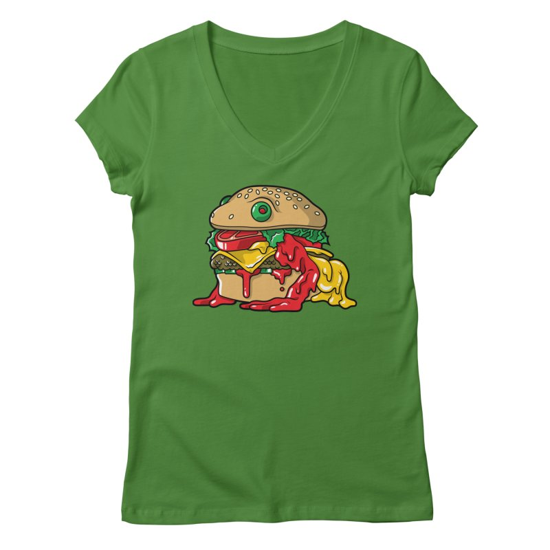 Frurger Women's V-Neck by Anthony Petrie Print + Product Design