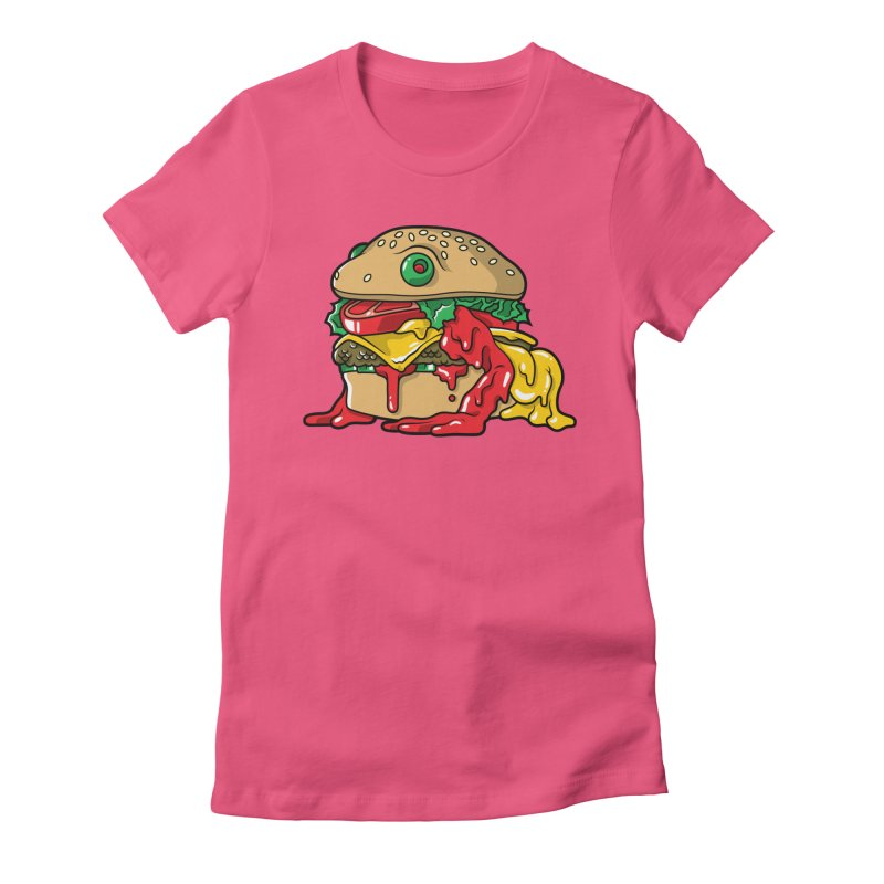 Frurger Women's Fitted T-Shirt by Anthony Petrie Print + Product Design