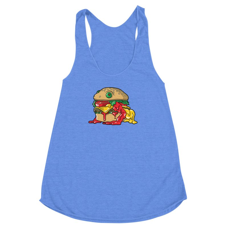 Frurger Women's Racerback Triblend Tank by Anthony Petrie