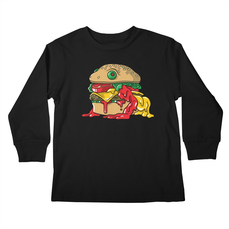 Frurger Kids Longsleeve T-Shirt by Anthony Petrie Print + Product Design