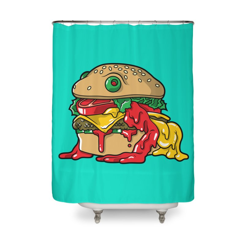 Frurger Home Shower Curtain by Anthony Petrie Print + Product Design
