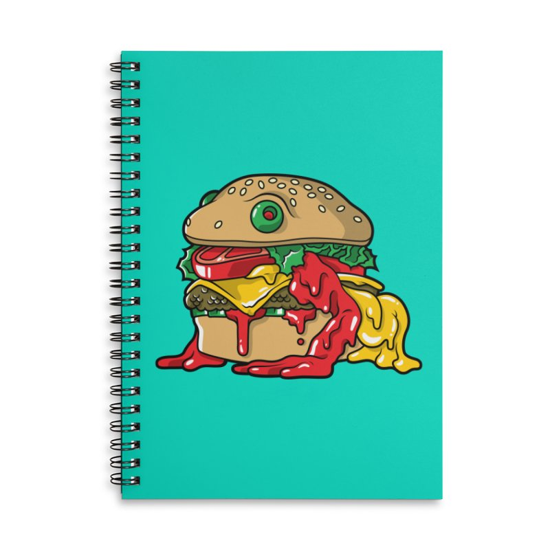 Frurger Accessories Lined Spiral Notebook by Anthony Petrie Print + Product Design