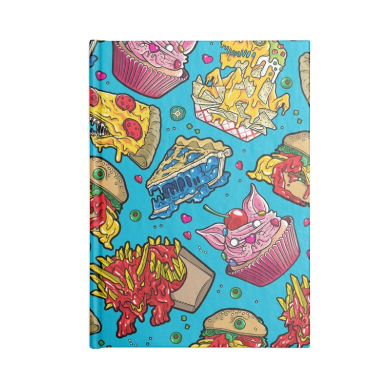 Feast Beast Family Accessories Lined Journal Notebook by Anthony Petrie Print + Product Design