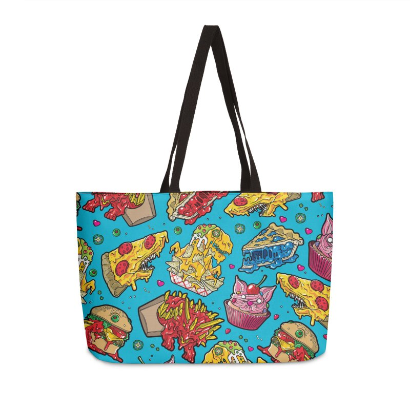 Feast Beast Family Accessories Weekender Bag Bag by Anthony Petrie Print + Product Design