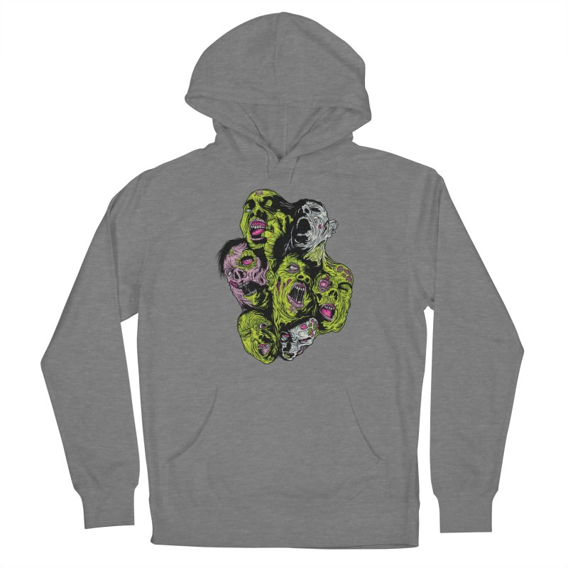 Fight of the Living Dead Women's Pullover Hoody by Anthony Petrie Print + Product Design