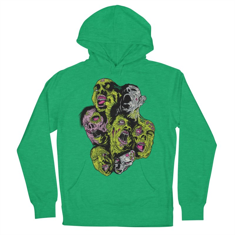 Fight of the Living Dead (Tee) Men's Pullover Hoody by Anthony Petrie